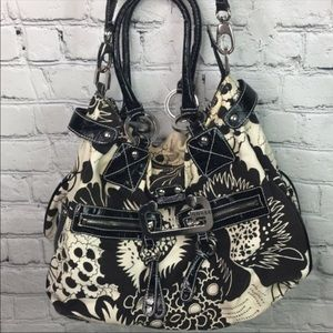 Guess floral satchel purse Shoulder Bag